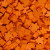 Carcassonne: Sacchetto con 100 Meeples di Colore Arancione