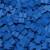 Carcassonne: Sacchetto con 100 Meeples di Colore Blu