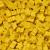 Carcassonne: Sacchetto con 100 Meeples di Colore Giallo
