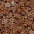 Carcassonne: Sacchetto con 100 Meeples di Colore Marrone