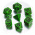 Celtic Dice 3D Verde/Nero (7)