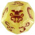 Cthulhu Dice Game - Giallo/Rosso
