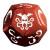 Cthulhu Dice Game - Rame/Bianco