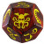 Cthulhu Dice Game - Rosso/Giallo