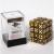 Dice Cube - Set 36 Dadi D6 12mm - Marbled Dark Brown