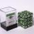 Dice Cube - Set 36 Dadi D6 12mm - Marbled Jade Green