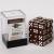 Dice Cube - Set 36 Dadi D6 12mm - Opaque Brown
