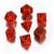 Set Dadi Dragon - Rosso, Nero