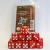 Set 15 Dadi D6 16mm - Rosso Perlato Marmorizzato