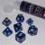 Set 7 Dadi 16mm - Blizzard Blue