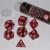Set 7 Dadi 16mm - Charming Red