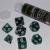 Set 7 Dadi 16mm - Mystic Green