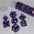 Set 7 Dadi 16mm - Purple Strike