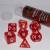 Set 7 Dadi 16mm - Ruby Red