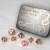 Set 7 Dadi In Metallo - Copper