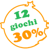 Giochi in offerta al 30% in area GEEK