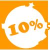 10% su tutto il catalogo